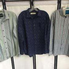 0922faec New ListingTommy Bahama Mens Large Shirts Lot Of 3 Long Sleeve Button Up  Silk Cotton Blend