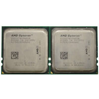 Lot of 2 AMD Opteron 2427 Processor CPU 2.2GHz 2200MHz Bus OS2427WJS6DGN 6Core