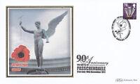 8 NOVEMBER 2007 PASSCHENDAELE BENHAM FIRST DAY COVER CHELSEA LONDON WC2 SHS