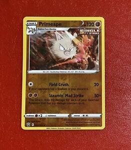 Pokémon TCG Primeape 67/163 S&S Battle Styles Set Rare Reverse Holo Card NM