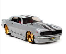 Maisto 1:24 1968 Chevrolet Camaro Z28 Diecast Metal Model Car Silver