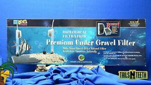 """Lee's Premium Under Gravel Filter for 30 Gal Aquariums - 12"""" x 36"""" #13158"""