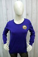 RALPH LAUREN Taglia L Maglione Donna Sweater Cotone Pullover Pull Casual Woman