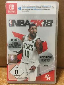 NBA 2K18 Basketball Nintendo Switch Video Game (UK IMPORT VERSION)