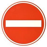 No Parking parken verboten Schriftzug Zeichen Aufkleber Oracal Folie 34x16 cm