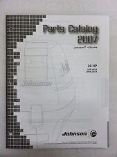 2007 Johnson Parts Catalog 30 J30 PL4SUA TEL4SUA 4 Stroke 5007202