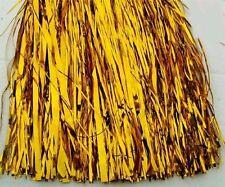 100 x Lametta Baumschmuck 40 cm ( gold ) Deko oder verarbeiten x 3256