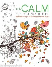 The Calm Flora Fauna Patterns Coloring Book Adult Relaxing Stress Relieving Kids