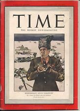 SHAPOSHNIKOV SOVIET STRATEGIST RUSSIA TIME 1942 WORLD WAR II MACARTHUR MEN NICE!