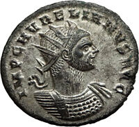 AURELIAN Genuine 274AD Authentic Ancient Original Roman Coin SOL SUN i65435