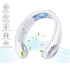 Portable Rechargeable Adjusted Neckband Neck Hanging Fan Personal 2 IN 1 Fan