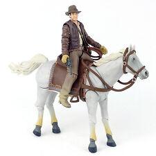 "Indiana Jones Raiders of the Lost Ark INDY & HORSE 4"" Action Figure Hasbro 2008"