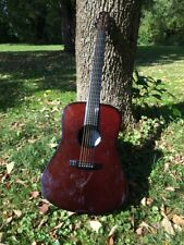 Emerald Artisan T20 Acoustic Electric Carbon Fiber Guitar with Hiscox  00004000 Case Rare