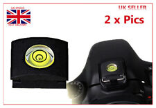 Camera Hot shoe Single 1 Axis Bubble Spirit Level for SLR DSLR Canon Nikon 2Pics