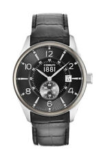 Cerruti 1881 Men's Watch Lipari cra098e222d Analogue Leather Black