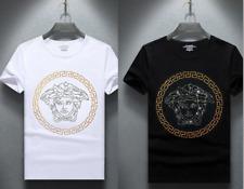 20Versace Herren Damen T-Shirt Kurzarm Top Hemd Pullover Rundhals Sweatshirt