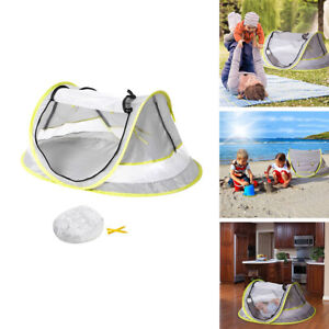Infant Pop Up Beach Tent Anti Pest Portable Outdoor Garden Sun Shade UV Shelter