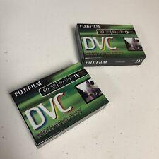FUJIFILM DVC Mini DV Video Cassette Tapes 60/90 min LP ~ New