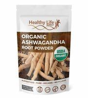 Organic Ashwagandha Root Powder Pure USDA Organic Certified Indian Ginseng 1 lb