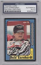DALE EARNHARDT SR. PSA/DNA SIGNED 1991 MAXX CARD #3 AUTOGRAPH CERTIFIED SENIOR