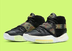 Nike Kyrie 6 N7 Black/Pure Platinum/Citron Pulse Mens Basketball Shoe DA1348 001