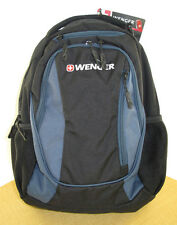New With Tags Wenger SwissGear Centre Computer Backpack Black / Blue
