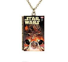 Creative New Miniature Star Wars Cartoon Cover TINY Book Pendant Necklace