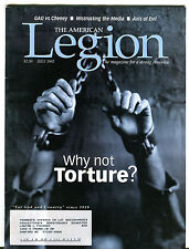 The American Legion Magazine July 2002 Why Not Torture? EX 040116jhe