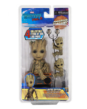 Solar Powered NECA Guardians of the Galaxy 2 Limited Edition Kid Groot Gift Set