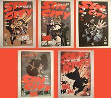 New listing Sin City: The Big Fat Kill Lot -Dark Horse 1994- #1 - 5! Complete! Frank Miller!