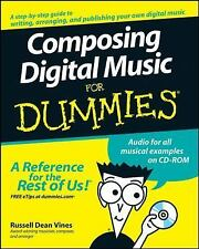 Composing Digital Music For Dummies (For Dummies (Computer/Tech))-ExLibrary