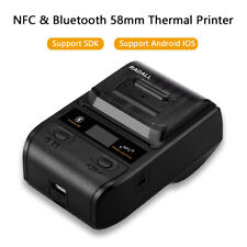 Mini 58mm 2-in-1 Bluetooth NFC Thermal Printer+SDK Fits ESC/POS for Smartphones