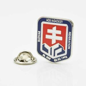 Ice Hockey Federation of Slovakia (New) pin, badge, lapel, hockey