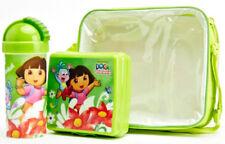 DORA the Explorer Pranzo Set Pack Borsa Sandwich Box & Bottiglia picnic scuola