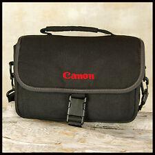 Nice Canon Black Red camera Bag suit Digital SLR + 2 Lenses Olive internal