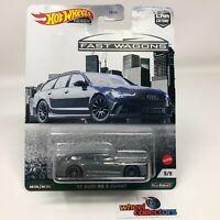 '17 Audi RS 6 Avant * 2021 Hot Wheels FAST WAGONS Car Culture B Case * IN STOCK