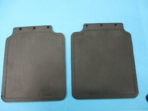 Pair Mudflaps Rear Land Rover Discovery I RTC6821 Sivar