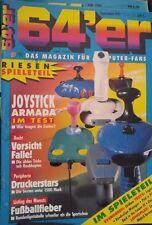 64er (64´er) 09/91 September 1991 C64 Commodore 64 (Joysticks, Fussballfieber)