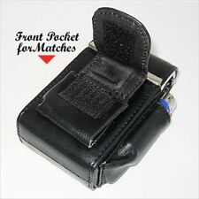 BLACK CIGARETTE Hard Case  pouch Leather Holder Wallet Purse Men Women -New