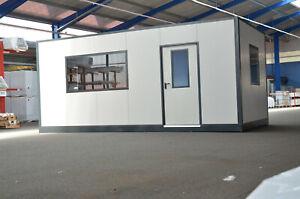 """IN-CO Indoor Container""""XXL"""" 3x6 m, Hallenbüro Meisterbüro Modulraum, werksfertig"""