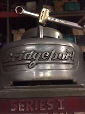Bridgeport Mill Drawbar Wrench w Brass Hammer
