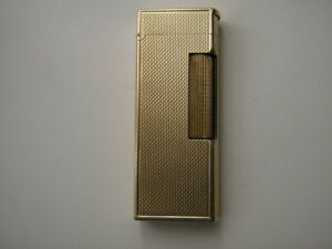 Dunhill Rollagas lighter, solid gold, NOT JACKET, solid