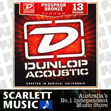 Jim Dunlop Acoustic Guitar String Set Medium 13-56 Phosphor Bronze Strings