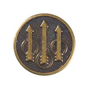 Beretta® - Trident Logo Medallion Grip Insert / Round - Genuine