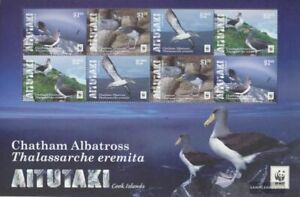 Aitutaki 966-969 Sheetlet (complete issue) unmounted mint / never hinged 2016 Ch