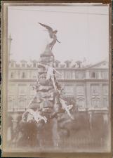 Italie, Venise, Monument à identifier, ca.1900, Vintage citrate print Vintage ci