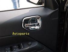 4pcs Interior Chrome Door Handle Cover Bowl Trim For Jeep Patriot 2007 2016  (Fits: 2016 Jeep Patriot)