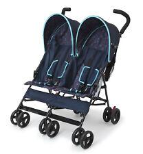 Delta Children Lx Side by Side Double Stroller, Night Sky