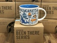 Starbucks BEEN THERE Series BTS - Massachusetts Boston Cape Cod 14oz Mug NIB