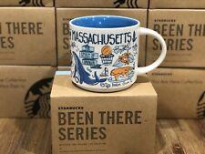 Starbucks BEEN THERE Collection BTC - Massachusetts Boston Cape Cod 14oz Mug NIB